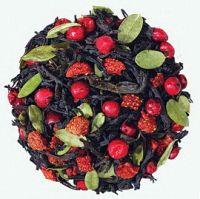 Ягодный коктейль  - смесь черного индийского и цейлонского чая с натуральными растительными ароматизаторами.