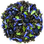 """Черника в йогурте (зеленый) - зеленый китайский чай """"порох"""" с натуральными ароматизаторами."""